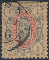 Finlandia 1889  Yvert Tellier  33 Escudo US - Non Classificati