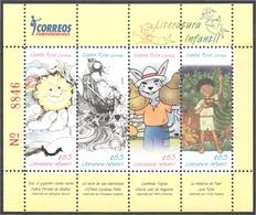 Costa Rica 885/88 2009 Literatura Para Niños MNH - Francobolli