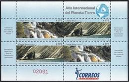 Costa Rica 867/66 2008 Minipliego Año Internacional Del Planeta Tierra MNH - Francobolli