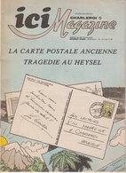 Journal Publicitaire  Marcinelle   Tragedie Du Heysel - Publicités