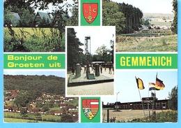 Bonjour De Gemmenich (Plombières)-écrite En 1993-Village De Vacances (Home Franck) Situé Aux Trois Frontières- - Plombières
