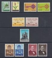 1968 ** Islande (sans Charn., MNH, Postfrish) Complete Yv 370/80  Mi 415/25  FA 452/62  (11v) - Komplette Jahrgänge