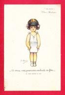 Illust-1670Ph52 Emile DUPUIS, Nos Petits, à Vous Mes Premiers Souhaits De Fête, Cpa - Dupuis, Emile