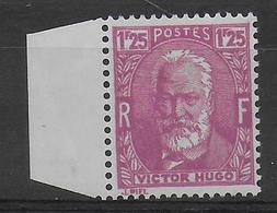1933 - YVERT N° 293 ** MNH BORD DE FEUILLE - COTE = 13 EUR. - - Neufs