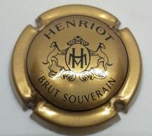 MUSELET CAPSULE DE CHAMPAGNE HENRIOT BRUT SOUVERAIN - Henriot