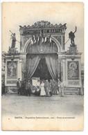 Cpa...Bastia...exposition Internationale De 1905...porte Monumentale...animée - Bastia