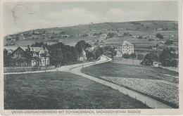 AK Sächsische Böhmische Grenze Obersachsenberg Schwaderbach Bublava Graslitz Kraslice Klingenthal Sachsenberg Vogtland - Sudeten