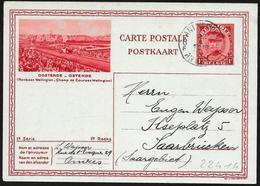 "Belgio/Belgium/Belgique: Intero, Stationery, Entier, Campo Da Corsa ""Renbaan Wellington"" - Ippica"
