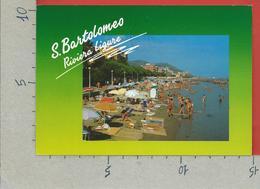 CARTOLINA VG ITALIA - S. BARTOLOMEO AL MARE (IM) - La Spiaggia - 10 X 15 - 1997 - Imperia