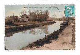 Courrières   -  Vue  Sur  Le  Canal - France