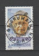"""FRANCE / 2000 / Y&T N° 3345 : """"Célébrités - Explorateurs"""" (Paul-Emile Victor) - Oblitération 2000 11 14 . SUPERBE ! - Frankreich"""