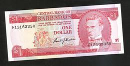 BARBADOS - CENTRAL BANK Of BARBADOS - ONE DOLLAR / S.J. PRESCOD - Barbados