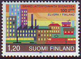 Finlandia 1982  Yvert Tellier  861 Electricidad  ** - Finlande