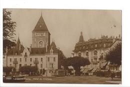 23654 - Lausanne Ouchy Hôtel Du Château Tram Avec Pub Lenzbourg - VD Waadt