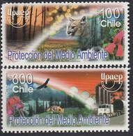 Upaep Chile 1672/73 2004 Pájaro Bird Fauna MNH - Zonder Classificatie