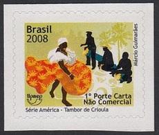 Upaep Brasil 3004 2008 Tambor De Crioula MNH - Zonder Classificatie