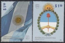 Upaep Argentina 2835/36 2010 República De Argentina MNH - Zonder Classificatie