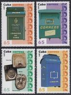 Upaep Cuba 4990/93 2011 Buzón MNH - Zonder Classificatie