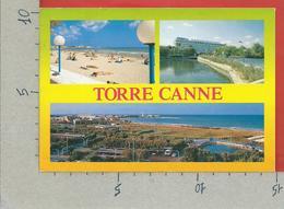 CARTOLINA VG ITALIA - TORRE CANNE (BR) - Spiaggia Grand Hotel Terme - 10 X 15 - 1992 - Brindisi