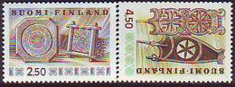 Finlandia 1989  Yvert Tellier  1058/59 Serie Basica  ** - Finlandia