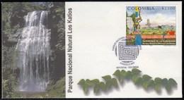 Upaep Colombia 1149 2001 Parque Nacional Natural Katios SPD FDC Sobre Primer D - Non Classificati