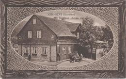 AK Kirchberg Böhmen Kostelni Gasthaus Schau Mal Eini A Graslitz Kraslice Schönbach Stein Ursprung Erlbach Markneukirchen - Sudeten