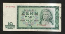DDR / DEUTSCHLAND - 10 MARK (BERLIN 1964) F. SCHILLER - [ 6] 1949-1990 : RDA - Rep. Dem. Tedesca