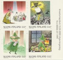 Finlandia 2000  Yvert Tellier  1486/89 Cuentos Infantiles  ** - Finlande