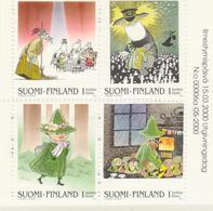 Finlandia 2000  Yvert Tellier  1486a/89a Cuentos Infantiles  ** - Finlande