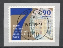 """Österreich 2019: """"Weihnachten"""" RM Sk.   Gestempelt (s.Foto) - 1945-.... 2nd Republic"""