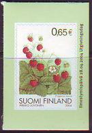 Finlandia 2004  Yvert Tellier  1680 Fresas Del Bosque  ** - Finland