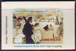 Finlandia 2004  Yvert Tellier  1673 Albert Edelfelt ** - Unused Stamps