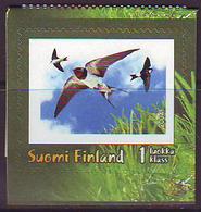 Finlandia 2004  Yvert Tellier  1670 Golondrinas ** - Unused Stamps