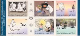 Finlandia 2003  Yvert Tellier  1615/20 Las Moumines/ilustraciones De Crn ** - Finland