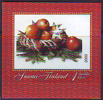 Finlandia 2003  Yvert Tellier  1644 Cuadro De Navidad Adhes. ** - Finland