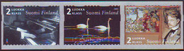 Finlandia 2004  Yvert Tellier  1649/51 Musica/Jean Sibelius ** - Unused Stamps