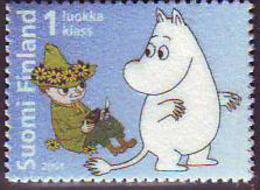 Finlandia 2004  Yvert Tellier  1681 Los Moomin ** - Unused Stamps