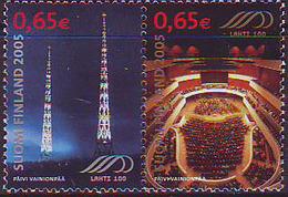 Finlandia 2005  Yvert Tellier  1699/00 400A De La Ciudad De Lathi  (2s) ** - Finlande