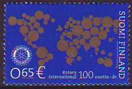 Finlandia 2005  Yvert Tellier  1701 100A Del Rotary Club Internacional ** - Finlandia