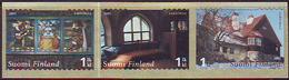 Finlandia 2005  Yvert Tellier  1703/05 Arquitectura (3s) ** - Unused Stamps