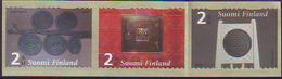 Finlandia 2005  Yvert Tellier  1706/08 Arte Decorativo (3s) ** - Unused Stamps