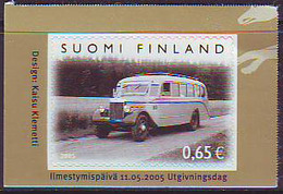 Finlandia 2005  Yvert Tellier  1713 100A  De Autobuses ** - Unused Stamps