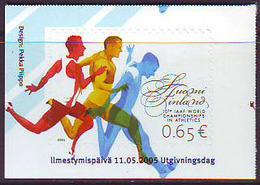 Finlandia 2005  Yvert Tellier  1714 10 Campeonato Inter. De Atletismo ** - Finland