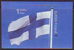 Finlandia 2006  Yvert Tellier  1759 Bandera De Finlándia (1s) ** - Unused Stamps