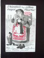 Abschied Der Alten Bayer. Marke Bayer Briefmarke 1911 - Unclassified