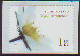 Finlandia 2006  Yvert Tellier  1785 Flores/Dryade 8 Petalos ** - Finland