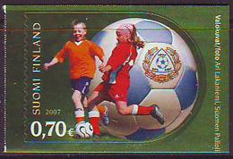 Finlandia 2007  Yvert Tellier  1803 Asociación De Futbol ** - Unused Stamps