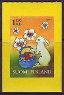 Finlandia 2007  Yvert Tellier  1807 Conejito De Pascua ** - Unused Stamps