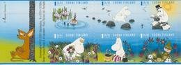Finlandia 2007  Yvert Tellier  1820/25  Los Moumines (Dibujos) ** - Unused Stamps