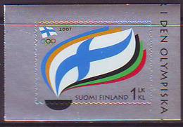 Finlandia 2007  Yvert Tellier  1832 Cent.Comite Olimp.filandes ** - Unused Stamps
